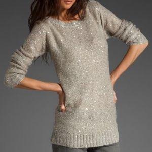 NWT BB Dakota sequin Palmer sweater sz M
